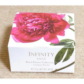 インフィニティ(Infinity)のコーセー インフィニティ ロイヤルフラワーコレクションIX コンパクトパウダー(フェイスパウダー)