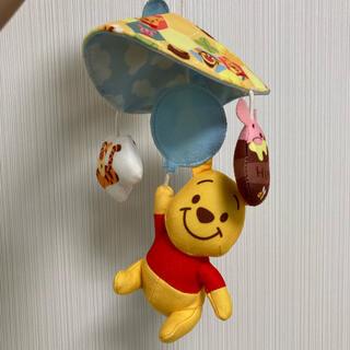 ディズニー(Disney)のくまのプーさん ベビーカーおもちゃ ベビートイ(オルゴールメリー/モービル)