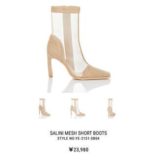 イエローブーツ(Yellow boots)の【新品未使用】YELLOWサマーブーツ(ブーツ)
