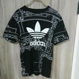adidas - アディダス adidas バンダナ柄  Tシャツ