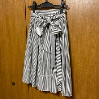 デイシー(deicy)の美品 deicy ラッフルフリルスカート(ひざ丈スカート)