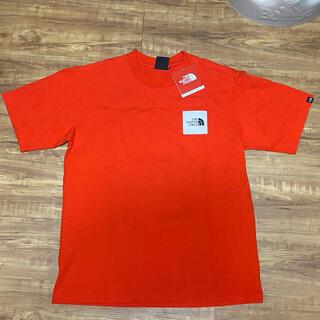 THE NORTH FACE - ノースフェイス オレンジTシャツ サイズM