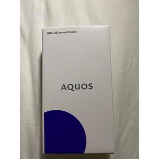 AQUOS - AQUOS sense3 basic SHV48 Black