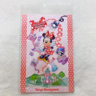 ミニーマウス(ミニーマウス)のミニーのスタイルスタジオ ポストカード(使用済み切手/官製はがき)