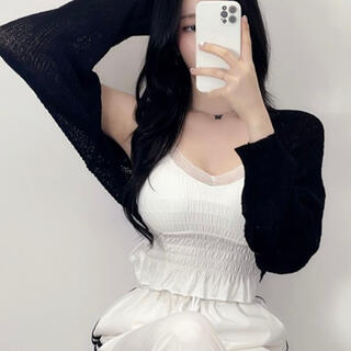 OHOTORO - 【予約商品】《4カラー》ボレロ シンプル カーディガン 韓国ファッション