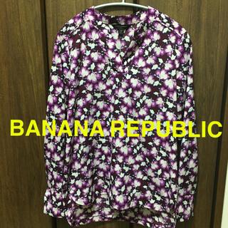 Banana Republic - BANANA REPUBLIC バナナリパブリック 長袖 ブラウス レディース