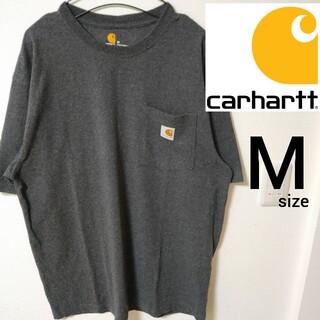 carhartt - Carhartt グレー 半袖Tシャツ カットソー メンズM ポケT カーハート