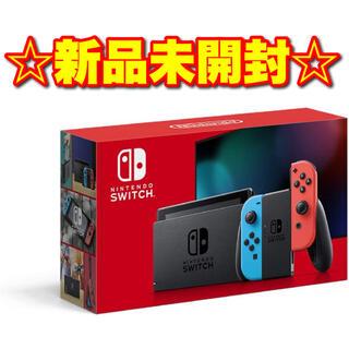 Nintendo Switch - Nintendo Switch 本体 (L) ネオンブルー/(R) ネオンレッド