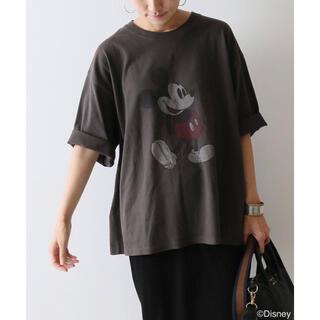 FRAMeWORK - FRAMe WORK MICKEY BIG Tシャツ グレー