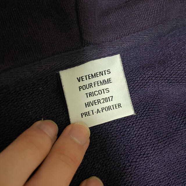 Balenciaga(バレンシアガ)のvetements sexual  fantaties パーカー メンズのトップス(パーカー)の商品写真