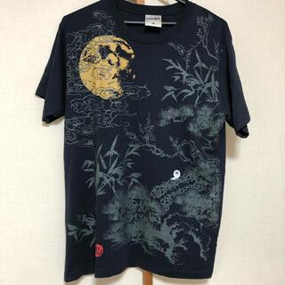 シマムラ(しまむら)のしまむら ゲゲゲの鬼太郎 Tシャツ メンズ Mサイズ ネイビー(Tシャツ/カットソー(半袖/袖なし))
