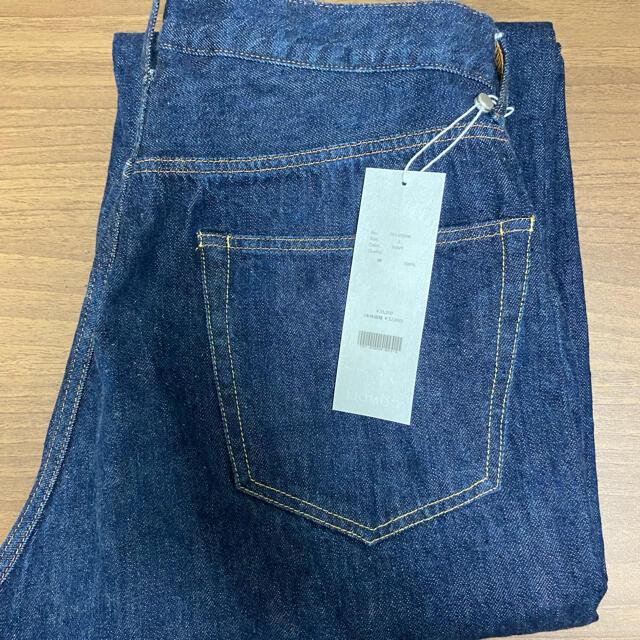 COMOLI(コモリ)のcomoli 5p デニム navy メンズのパンツ(デニム/ジーンズ)の商品写真