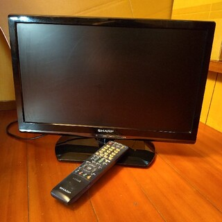 シャープ(SHARP)の液晶テレビ シャープ 19インチ(テレビ)