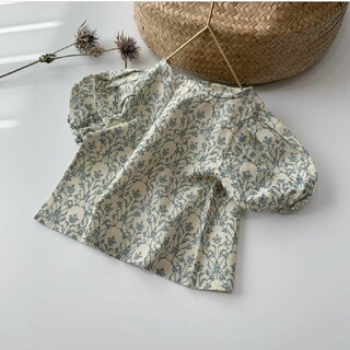 韓国子供服 candle blouse キャンドルブラウス