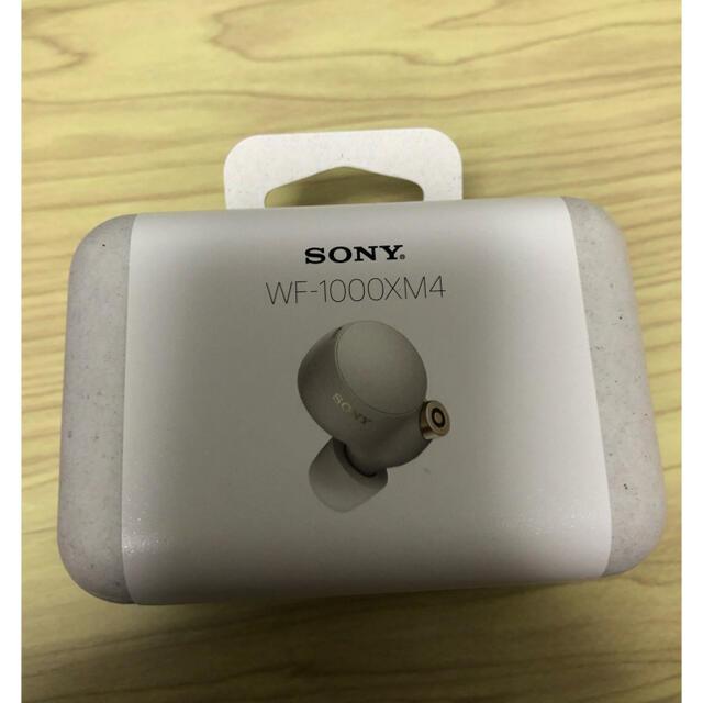 SONY(ソニー)のWF-1000XM4 新品未開封 プラチナシルバー スマホ/家電/カメラのオーディオ機器(ヘッドフォン/イヤフォン)の商品写真