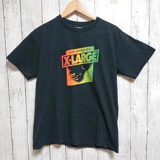 XLARGE - XLARGE エクストララージ メンズ Tシャツ 黒 逆さまゴリラ