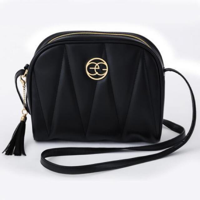 EGOIST(エゴイスト)の【EGOIST】ムック本付録 egマークキルティングショルダーバッグ  レディースのバッグ(ショルダーバッグ)の商品写真