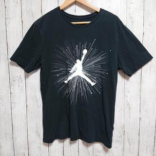 NIKE - NIKEナイキ エアジョーダン Tシャツ 黒 ビックプリント