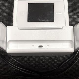 エヌイーシー(NEC)のUQ WiMAX 2+  Speed Wi-Fi NEXT WX04 クレードル(PC周辺機器)