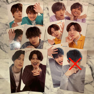 ジャニーズ(Johnny's)のSixTONES myojo 厚紙 12枚セット(アイドルグッズ)