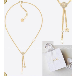 Christian Dior - Dior D-CLOVER ネックレス ビジュー クローバーネックレス 新品