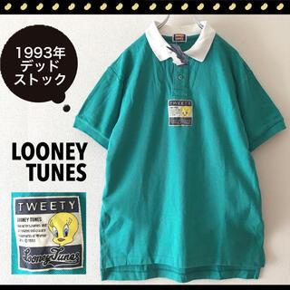 Disney - ルーニーチューンズ★1993年未使用品★TWEETY★ポロシャツ