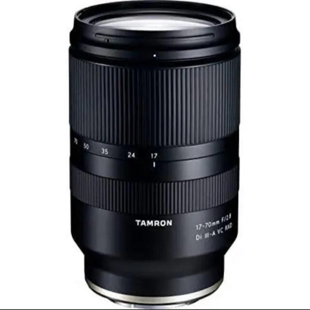 TAMRON(タムロン)のTAMRON 17-70mm F/2.8 Di III-A VC RXD スマホ/家電/カメラのカメラ(レンズ(ズーム))の商品写真