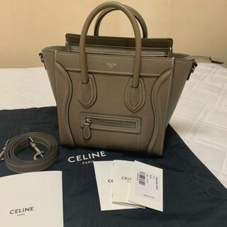 celine - 【新品未使用】セリーヌ ラゲージ ナノ スリ