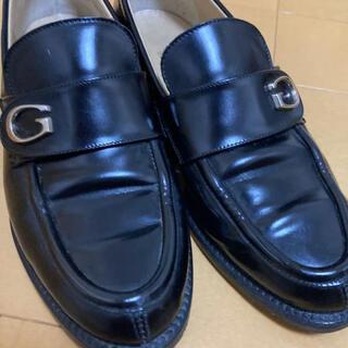 グッチ(Gucci)のGUCCI ローファー Gマーク(ローファー/革靴)
