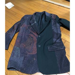 ヨウジヤマモト(Yohji Yamamoto)のyohjiyamamoto20aw   アート柄ウールJKT(テーラードジャケット)