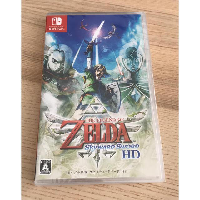 【Switch】 ゼルダの伝説 スカイウォードソード HD☆新品☆ エンタメ/ホビーのゲームソフト/ゲーム機本体(家庭用ゲームソフト)の商品写真