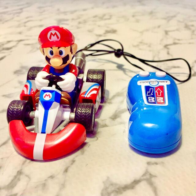 任天堂(ニンテンドウ)のスーパーマリオ ラジコン エンタメ/ホビーのおもちゃ/ぬいぐるみ(キャラクターグッズ)の商品写真