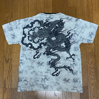 桜花爛漫 XXL 3L バレットノイズ Tシャツ 和柄 龍