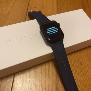 Apple Watch - Apple  Watch6 GPSモデル 40mm ネイビー