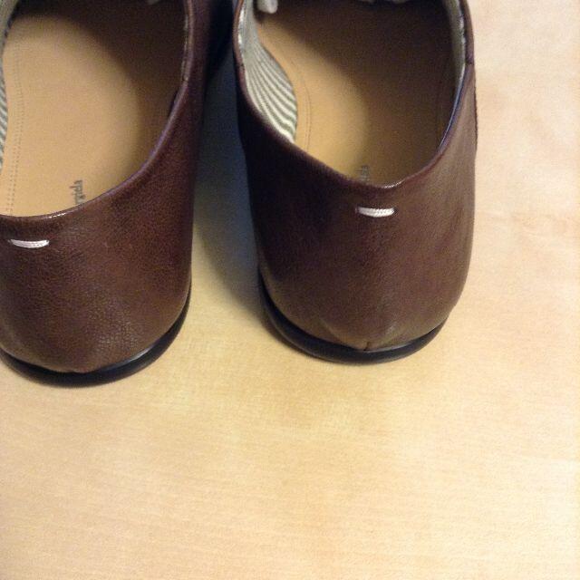 Maison Martin Margiela(マルタンマルジェラ)の新品 41 マルジェラ 21ss レザーシューズ 1028 メンズの靴/シューズ(ドレス/ビジネス)の商品写真