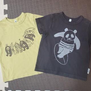 マーキーズ(MARKEY'S)のマーキーズ Tシャツ 2枚セット 95 パンダ(Tシャツ/カットソー)