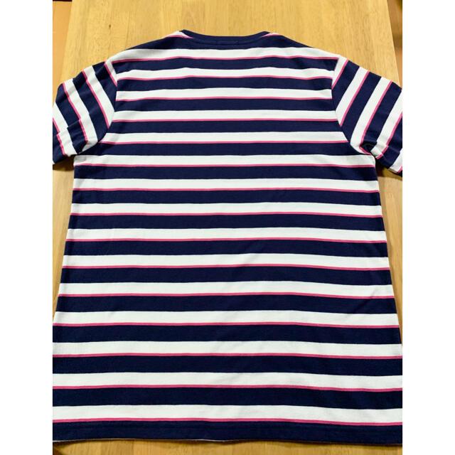 GU(ジーユー)の◉GU 半袖 ボーダー Tシャツ M メンズのトップス(Tシャツ/カットソー(半袖/袖なし))の商品写真