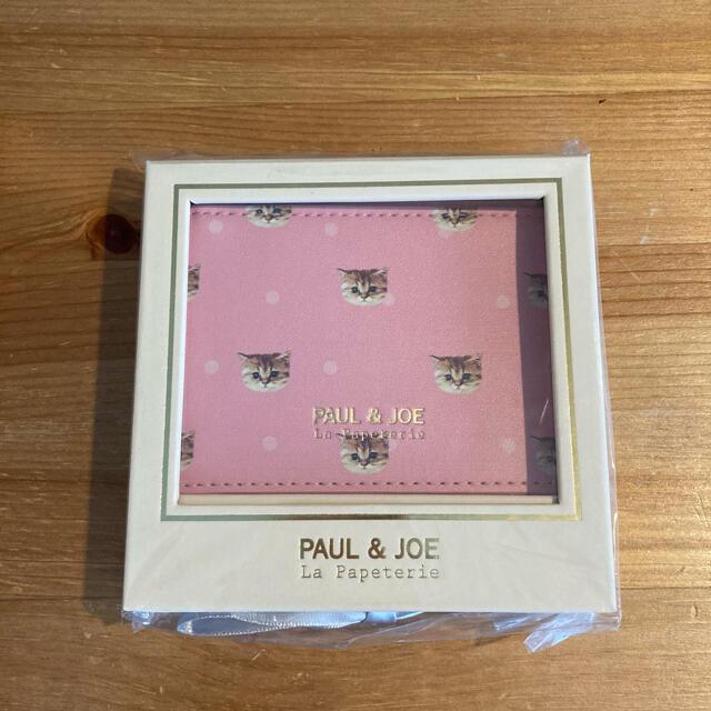 PAUL & JOE(ポールアンドジョー)の*ポール&ジョー パスケース ヌネット・ポルカドット・ローズ レディースのファッション小物(パスケース/IDカードホルダー)の商品写真