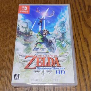 ニンテンドースイッチ(Nintendo Switch)のゼルダの伝説 スカイウォードソードSwitch 新品未開封(家庭用ゲームソフト)