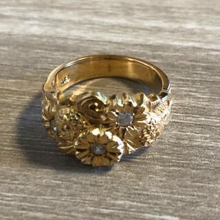 リング 指輪 ダイヤ K18 ⑤