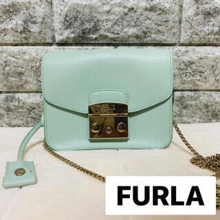 Furla - 【限定カラー】FURLA メトロポリス ショルダーバッグ ミントグリーン