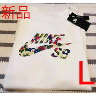 NIKE - 【新品】NIKE  SB パラダイス ロゴTシャツ ホワイト 白