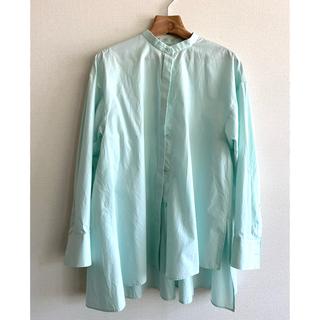 ENFOLD - ★美品★ENFOLD グリーンシャツ