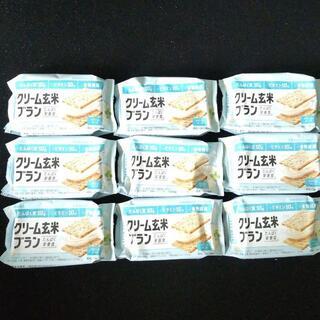 アサヒ(アサヒ)の9個セット クリーム玄米ブラン クリームチーズ(プロテイン)