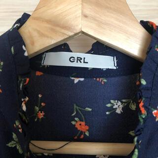 GRL - GRLワンピース小花柄 マタニティ