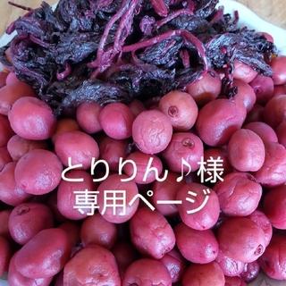 【とりりん♪様】専用 昔ながらの小梅干(漬物)