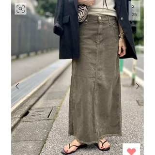 L'Appartement DEUXIEME CLASSE - L'AppartementUPPER HIGHTSCorduroyロングスカート