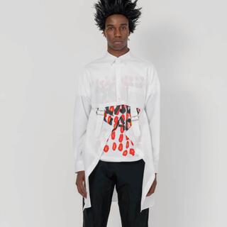 ブラックコムデギャルソン(BLACK COMME des GARCONS)のコムデギャルソンブラック2021ss comme de garcons Tシャツ(Tシャツ/カットソー(半袖/袖なし))