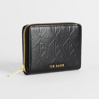テッドベイカー(TED BAKER)の【美品】二つ折り財布 ミニ財布 tedbaker ブラック(財布)