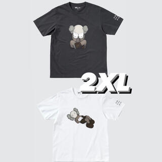UNIQLO - ユニクロ カウズ Tシャツ KAWS ×UNIQLO 新品未使用 2枚セット